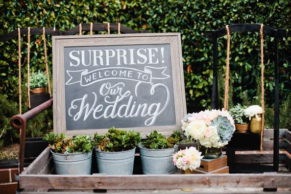 Surprise wedding (Divabride.com)