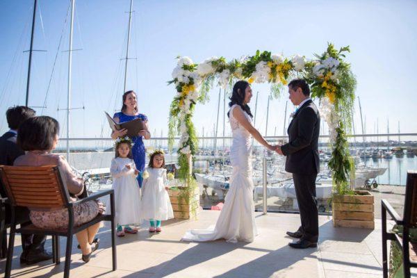 Fiona Garrivan Marriage Celebrant Sandringham Yacht Club