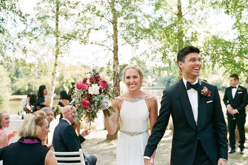 Danae & Saad's Daylesford wedding