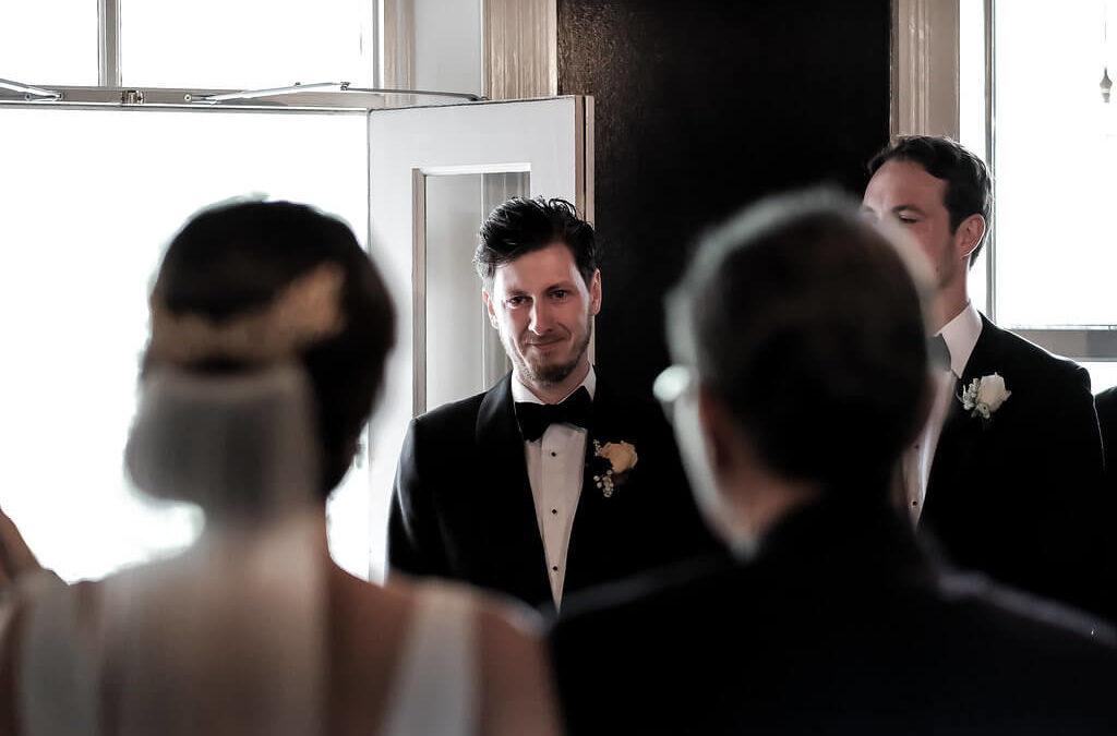 Jessica & Reece's Melbourne city wedding