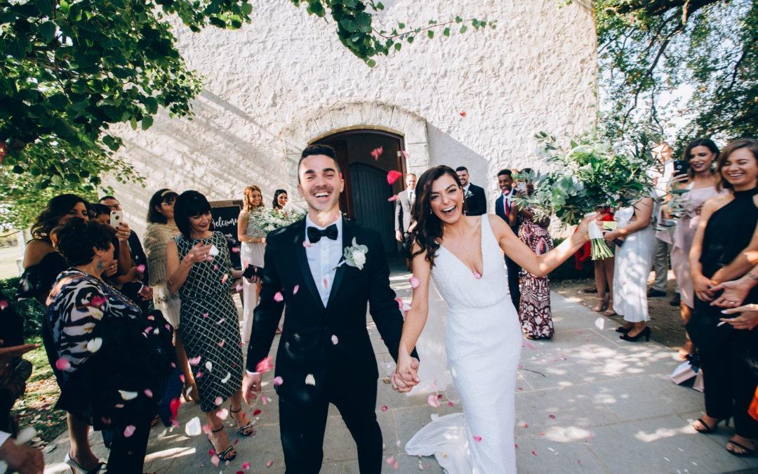 Nicole & Matt's stunning Stones of the Yarra Valley wedding