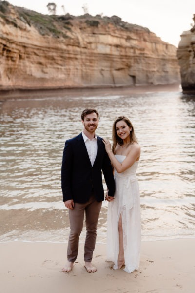 Wedding Ceremony on Great Ocean Road