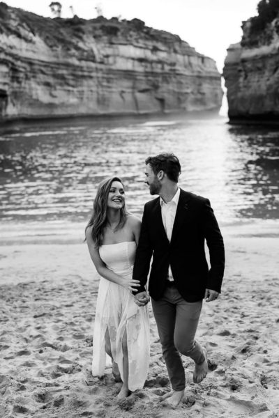 Great Ocean Road wedding ceremony