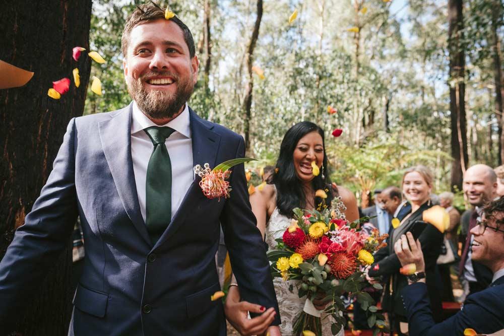 kinglake forest wedding