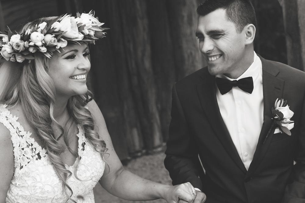 Post wedding smiles at The farm