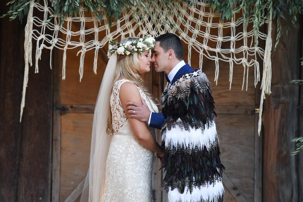 Cultural wedding at the Farm
