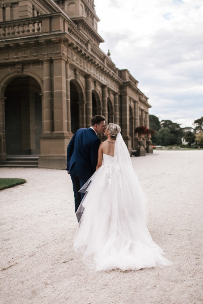Mansion wedding at Werribee