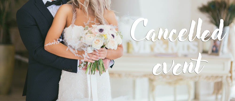 Cancelled weddings during coronavirus