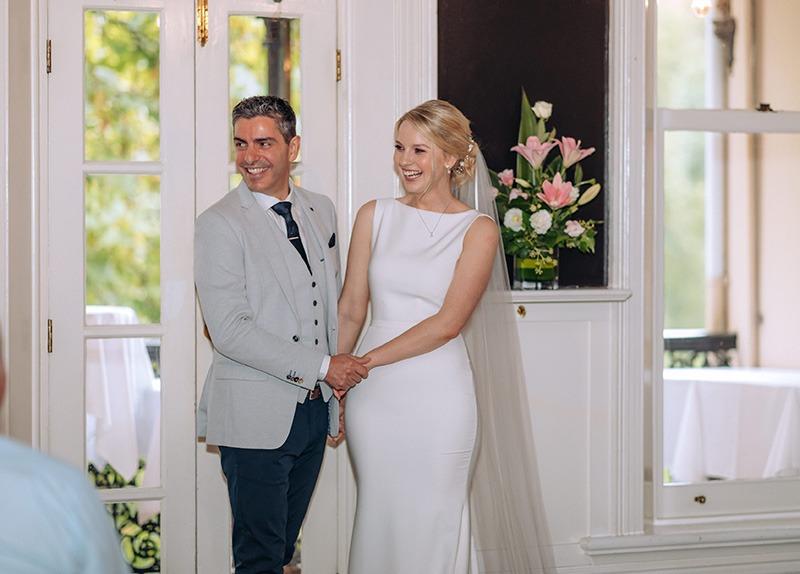 Wedding at Epocha Restaurant
