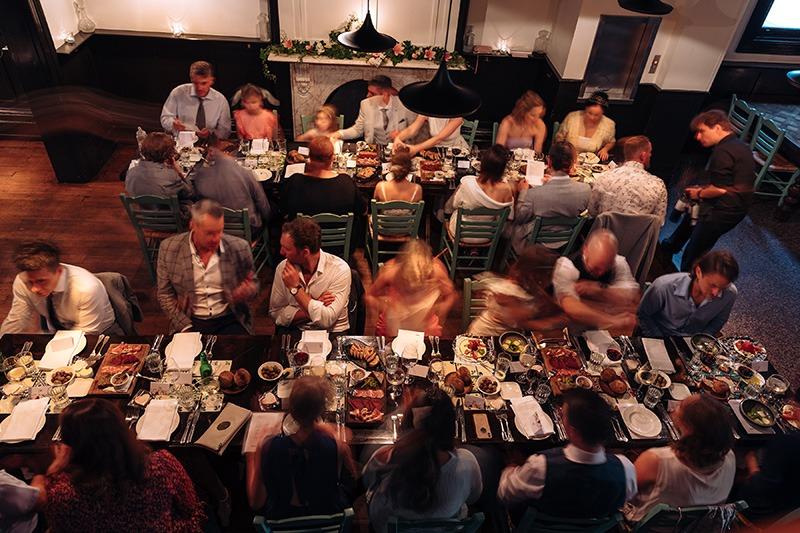 Epocha restaurant wedding