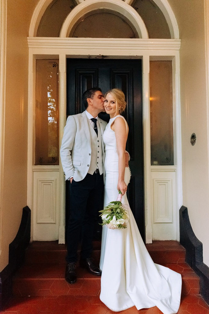 Bride & Groom on wedding day