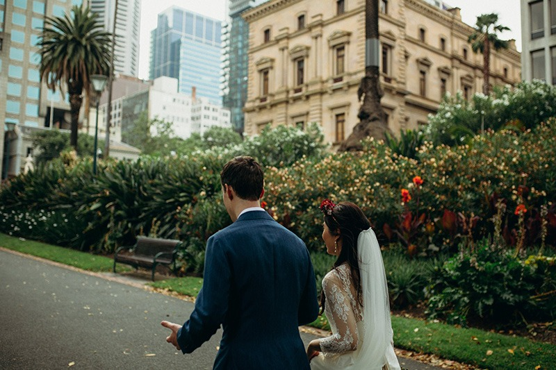 Fitzroy Garden city wedding