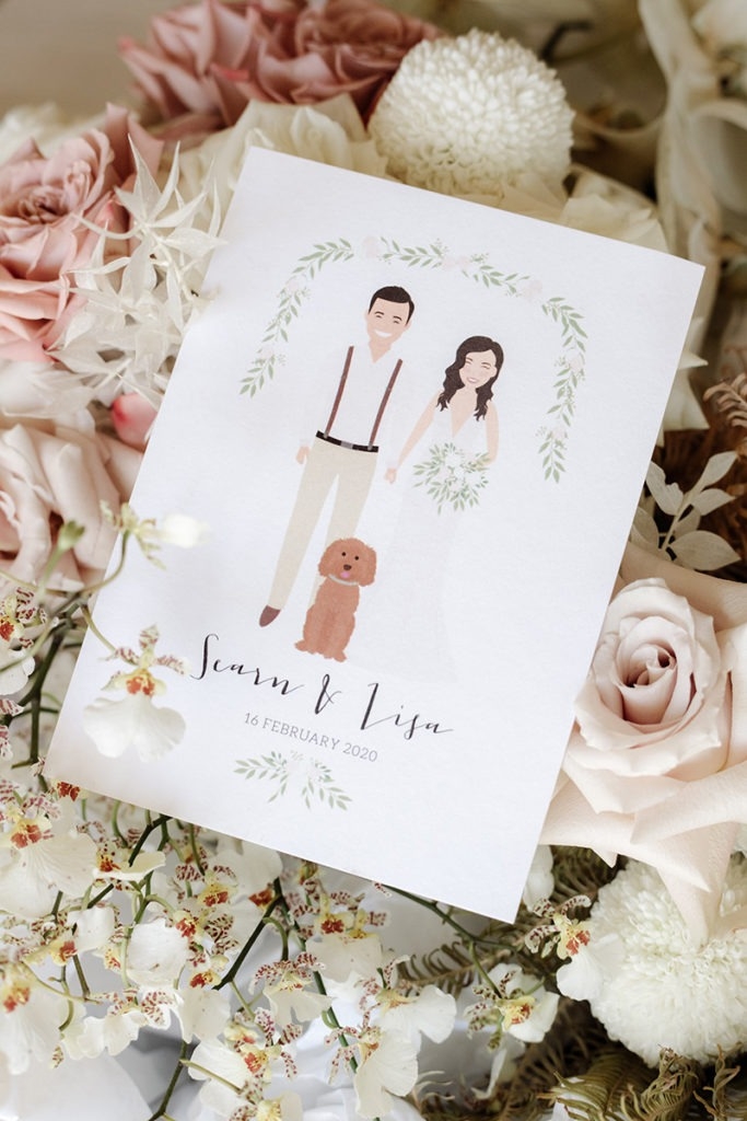 Wedding invitation for zonzo wedding