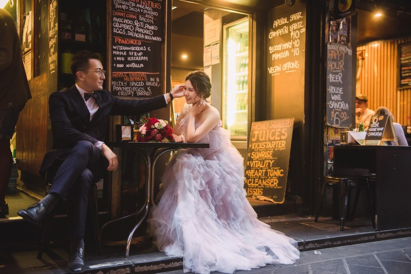Elopements in Melbourne CBD