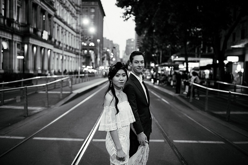 Bride & Groom Melbourne City