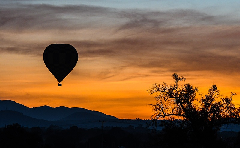 Hot Air Balloon Elopement