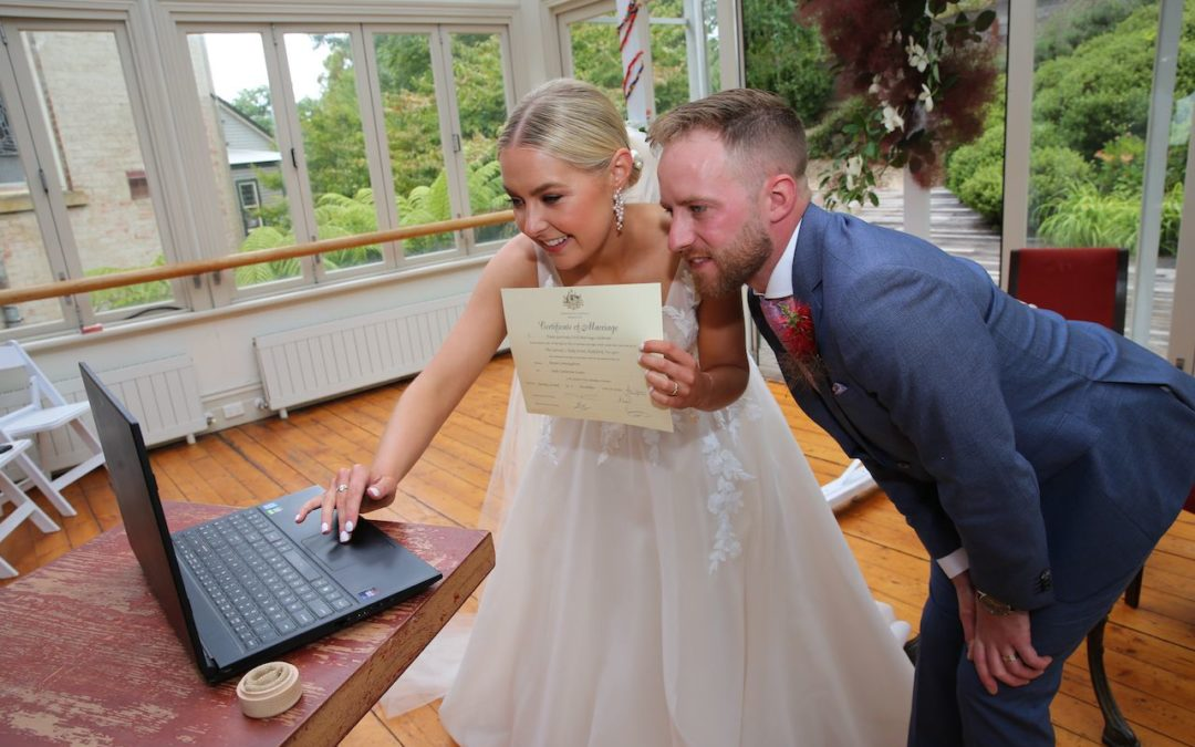 How to make a zoom wedding work.