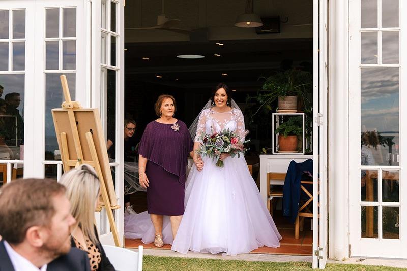 Bride & Mother at Peninsula wedding