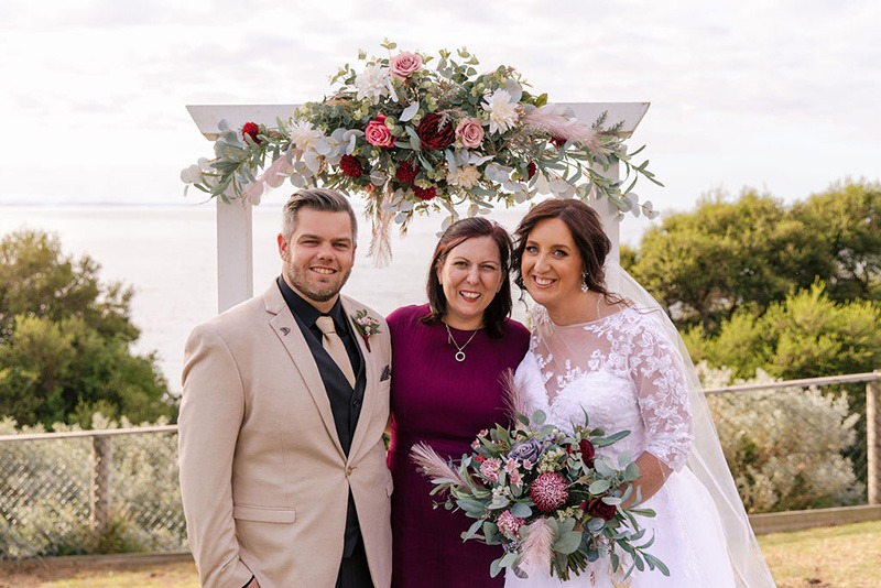 Wedding celebrations at Portsea Hotel