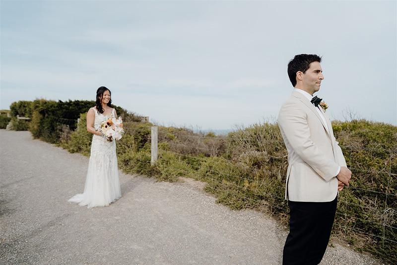 First look at Bellarine Peninsula Wedding