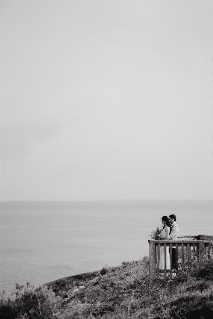 Bride & Groom at Bellarine Peninsula wedding