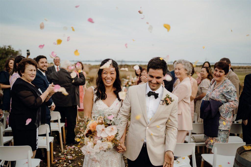Bride and groom Geelong wedding