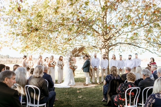 Brown Brothers wedding ceremony