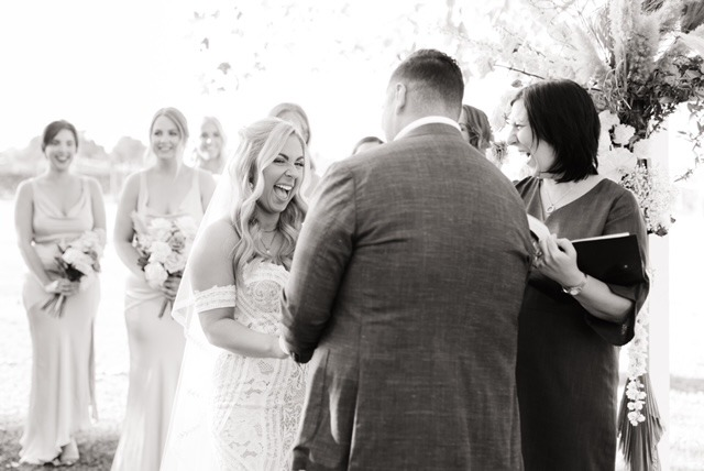 Brown Brothers winery ceremony